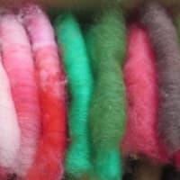 いろいろ糸紡ぎ
