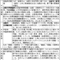 白鳳文化の覚え方(代表文化財3)◇A古代109
