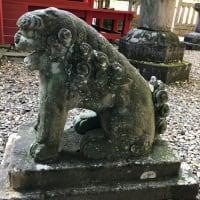 川越仙波東照宮の狛犬