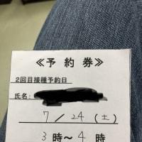 コロナワクチン 2回目接種!