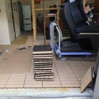 樹脂ウッドパネルタイルとタイルカーペット