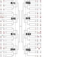 山口県選手権大会の組み合わせ(女子)