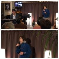 2月6日(木)の午後は、宇田川よしの(vo)さんのライブでした!