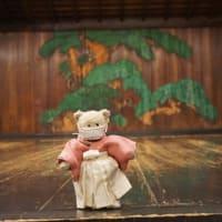 「大江能楽堂能楽体験」で、ミモロ、ついに舞台に…謡曲や歩き方の体験も…