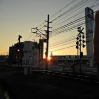 水曜日の夕の光景