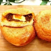 【とろ~り半熟タマゴ入り ハバネロカレーパン】夏の人気商品のご紹介☆横浜 かもめパンです(*^-^*)