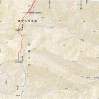 北岳(3192.5m)~間ノ岳(3189.5m)(2021.7.17-19)