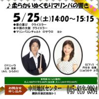5月25日 マリンバデビュー?!