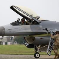 横田基地友好祭2019 F-16が飛ぶなんて・・・しかし