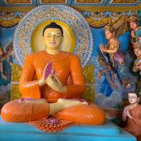 Buddha and merchants