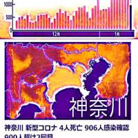 202101 1月12日(火)東京コロナ感染者数970は印象操作詐欺だった!?検査数比では7000に