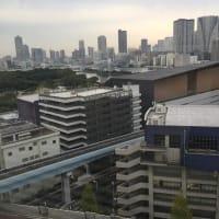面白リポート517.浜松町汐留で眺める東京