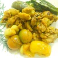 カレー味タッカルビ