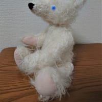 生徒さんの作品 青い目のシロクマさん