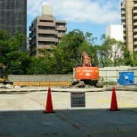 東邦ステンレス工業工場跡地マンション建設工事始まる