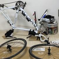ロードバイクのタイヤ交換。コンチネンタルGP5000。