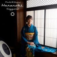 7/30 着物持ち込み成人式前撮り(お母さんの着物で) 札幌写真館ハレノヒ