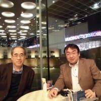 ◆2014年11月21日、自動車業界のイノベーター、元マツダ社の滝口さんと打ち合わせを行いました!
