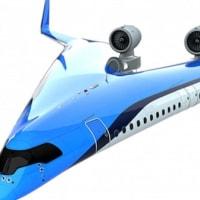 低燃費旅客機「フライングV」、スケールモデルの初飛行に成功