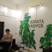 クラタペッパー新本店で キーダ祭り 壁画ペイント