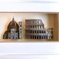 イタリアの建築 3部作 シャドーボックス