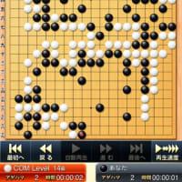 囲碁練習中