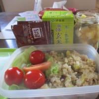 外出予定:手弁当の準備