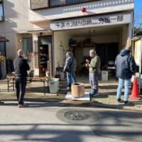 2020年12月20日本町二丁目餅つき大会