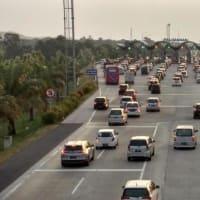 インドネシアの西ジャワ島で高速道の約230kmを一方通行実施!