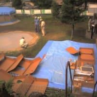 段ボール製避難用仮設住宅
