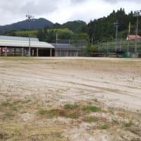 ソフトボールの練習場