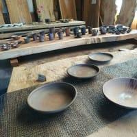 陶器と木は相性抜群