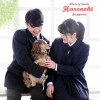 6/24 愛犬と一緒に 兄妹写真♫ 札幌写真館フォトスタジオハレノヒ