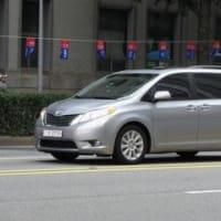 韓国で見かけた車