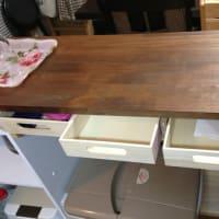 DIY キッチンカウンター