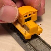 半キャブ貨車移動機を製作しています。