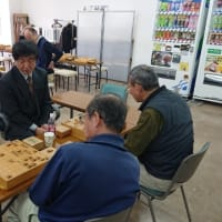 2月17日新宿将棋センターでの指導対局の風景