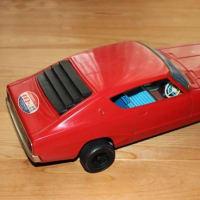 イチコー製 ブリキ玩具でニッサンスカイライン2000GTX ケンメリ