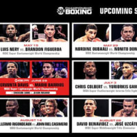 今年もボクシングの興行がズラリ(色々:04‐18‐21)
