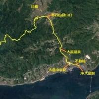 柳井市 琴石山登山コースに沿う史跡巡り(1/x)