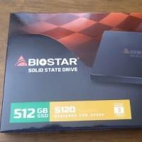 SSD250GB→512GB 換装