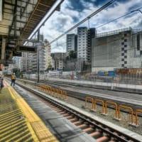 2019東京ブラブラ-09【渋谷】埼京線ホーム移転工事の進捗