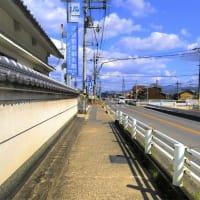 奈良県大和高田市市場と葛城市尺土の間の風景