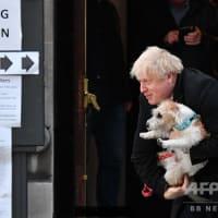 ボリス・ジョンソン首相は絵になるね~。 / AFPBB News