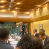 つくば青年会議所歴代理事長会議に出席しました。