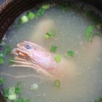9月11日  海老の酸辣スープ