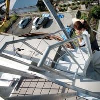 重量鉄骨3階建て住宅の屋上に上ってみました!絶景を独り占め?被災時の避難場所にもなります。限られた土地を有効活用しましょう!静岡市