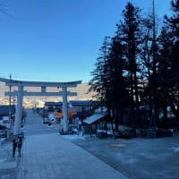 灯油が値上がりした日、諏訪大社を参拝する。