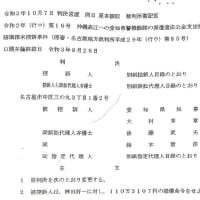 愛知の高江機動隊派遣住民訴訟で名古屋高裁が住民の訴えを認める逆転判決! 県警本部長に110万円の損害賠償金支払いを命じる --- 沖縄県警の援助要求についても厳しく批判