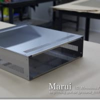 ステンレス板で箱を作る